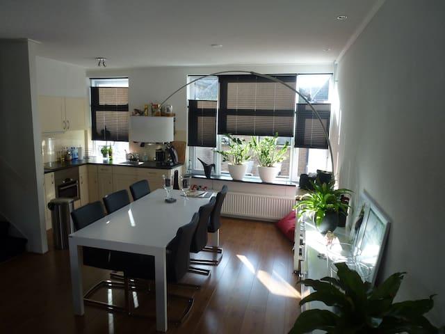 Sfeervol appartement met dakterras - Kampen - Lägenhet