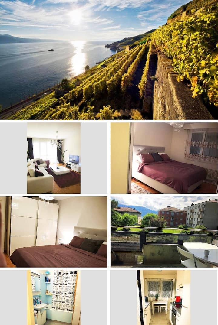 Nice Appartement near Lausanne