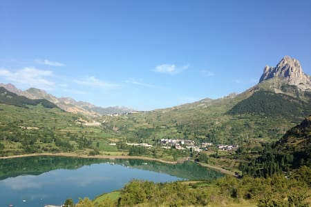 Spain Pyrenees Sallent Aragon