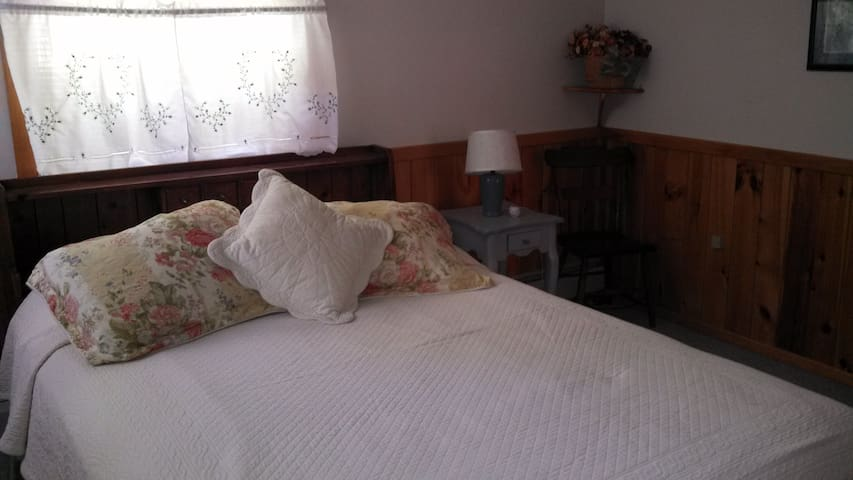 Room 1 in Lakeside Adirondack Home  - Wevertown - Rumah