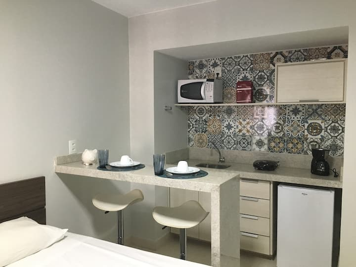 1011 - Flat moderno no centro de Brasília - Garvey