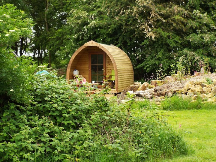 Glamping Pods and Shephards hut near Bath