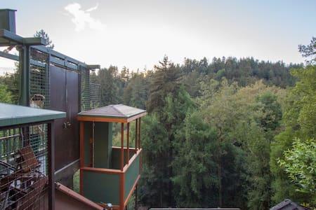 Tramway Access - Forested, close-in - Santa Cruz