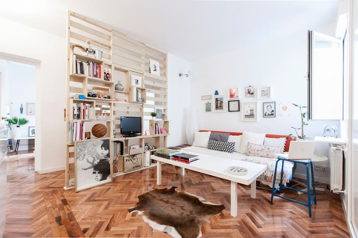 Charming Room in La Latina - Madrid - Appartement