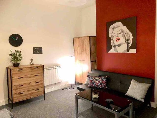 BELMONT APARTMENTS- Studio flat
