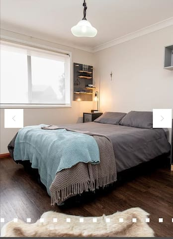 Designer bedroom with King Bed