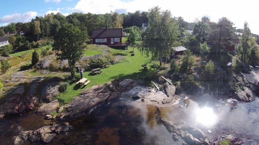 Sørlandsidyll på Tromøya