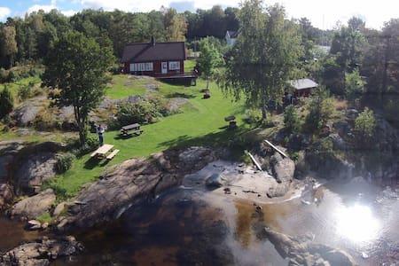 Sørlandsidyll på Tromøya - Arendal - Chatka