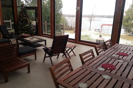 Birch Point Villa - Kawartha Lakes - กระท่อม