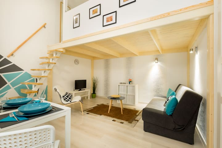 Your favourite studio apt in downtown Budapest
