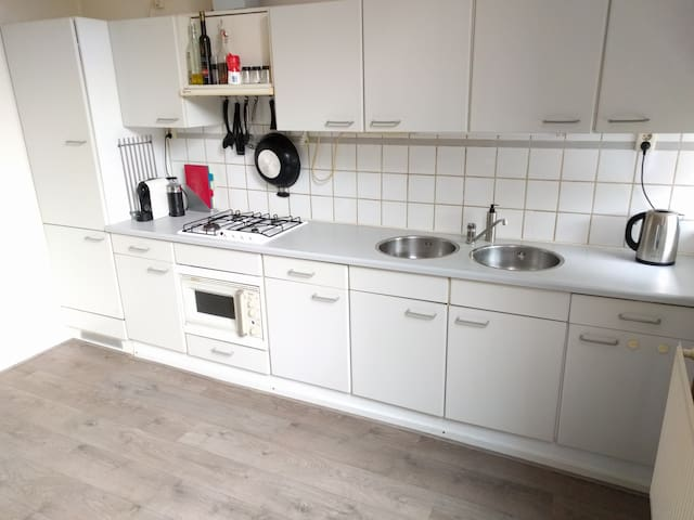 Spacious house near park and city center - Groningen - Huis