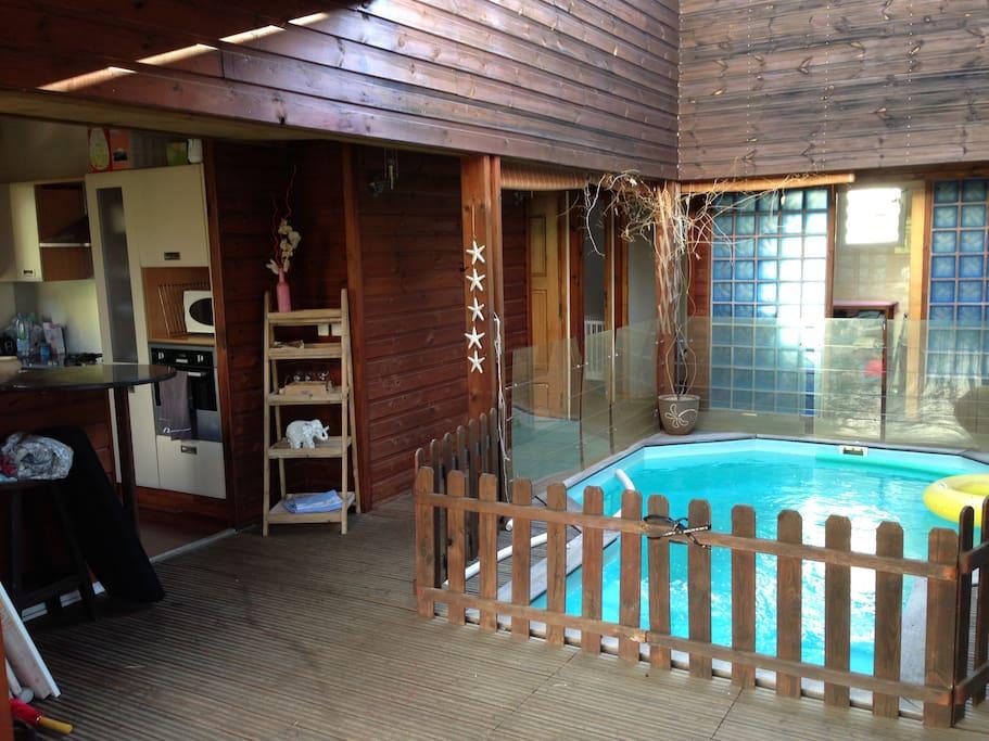 Maison avec piscine et jardin proche des plages maisons - Maison moderne avec jardin saint paul ...