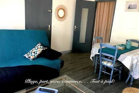 Sables d'Olonne flat near city center & beach.
