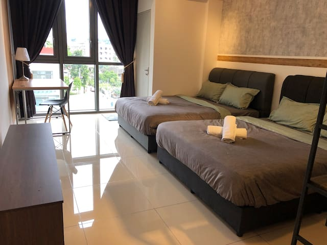 STUDIO|3Mins to Mid Valley|Near Sunway PJ |KLCITY