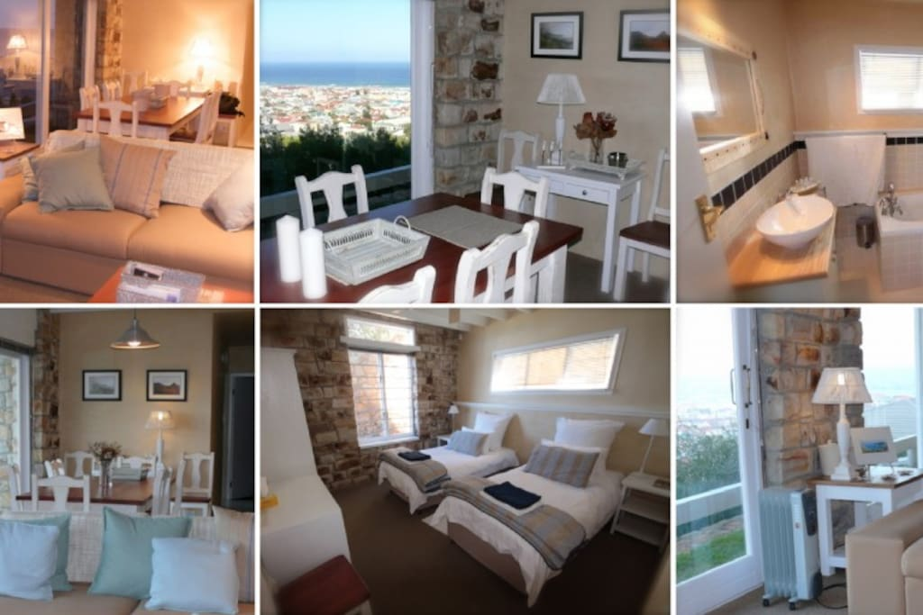 Superb views over False Bay and a relaxed lifestyle