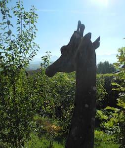 La neige est là! Chalet la girafe - Bonne - Almhütte