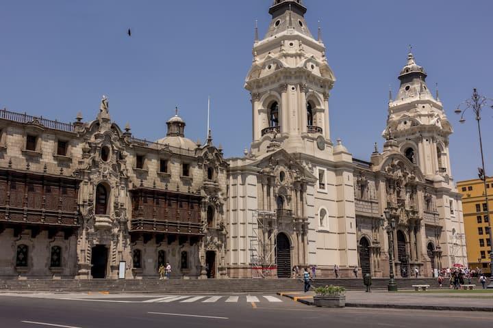 Historic Lima center