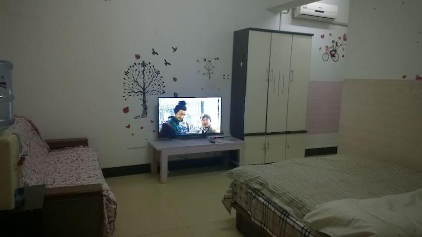 咸阳家庭旅馆短租高层公寓出租免费wifi家电齐全拎包入住 - Xianyang - Apartment