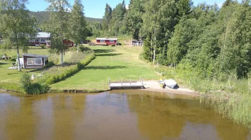 Boende på sjötomt i Sunnanbäck, utanför Hudiksvall