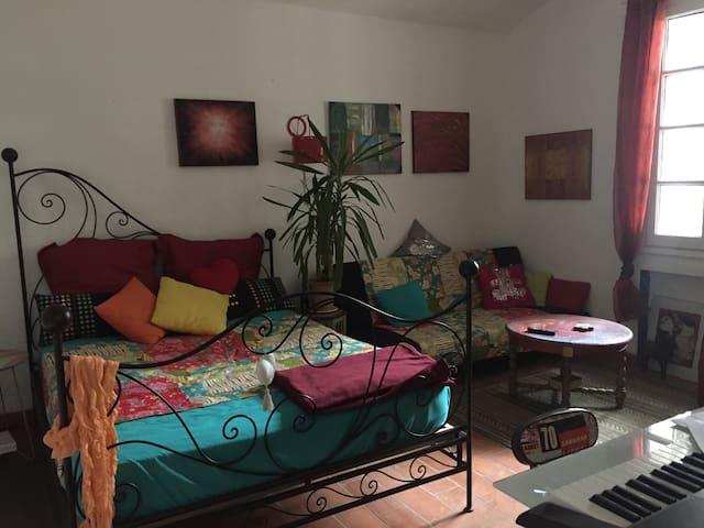 La chambre du Souquet's au coeur de la Clape! - Gruissan - ที่พักพร้อมอาหารเช้า