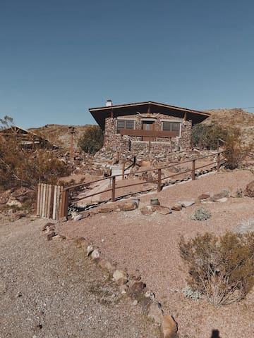 The Oatman Rock House