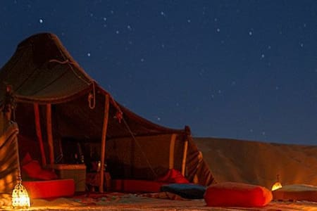 Nomad Berber Camp Under a Sea of Stars