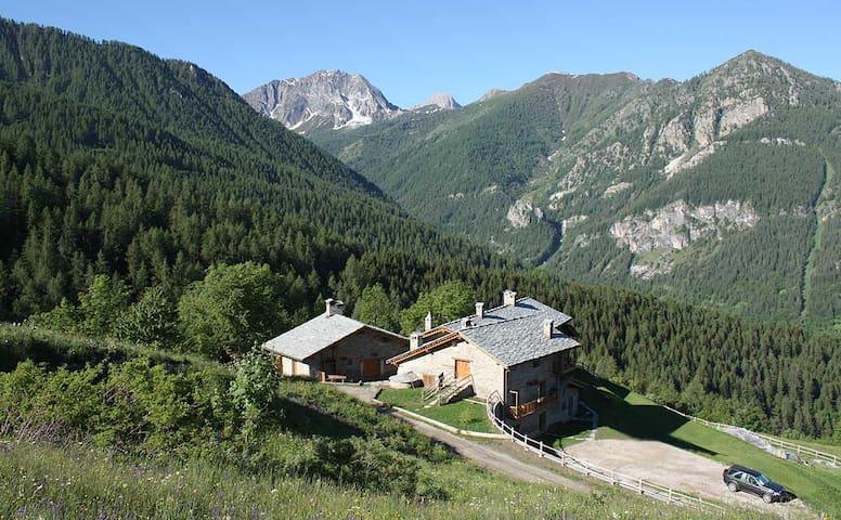 Appartamento in baita di montagna - Marmora - Apartamento