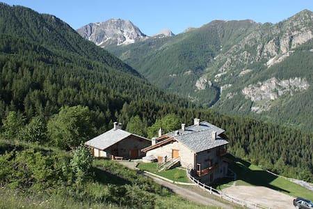 Appartamento in baita di montagna - Marmora - Leilighet