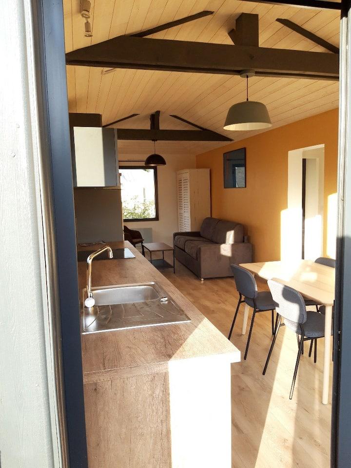 Dinard: appartement loft à proximité de la mer