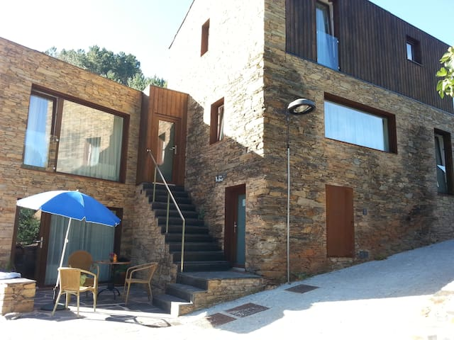 Casa do Céu  1 bedroom Slate Stone Holiday Home