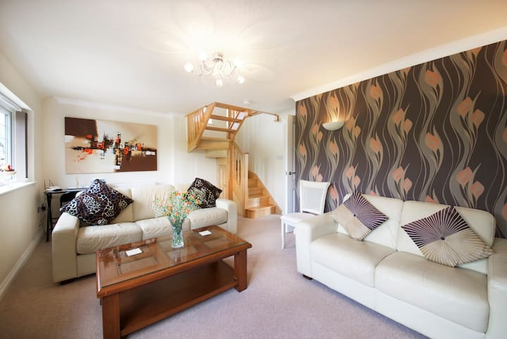 Stunning, spacious, modern and cosy holiday home.