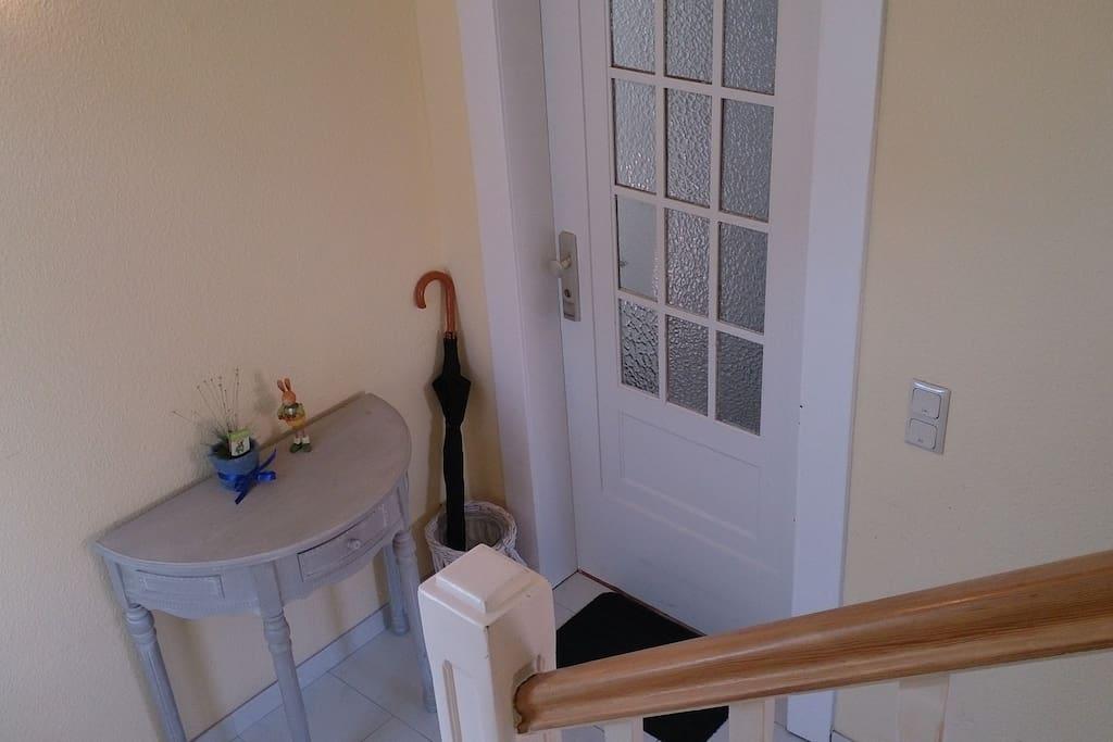 inside door apartment