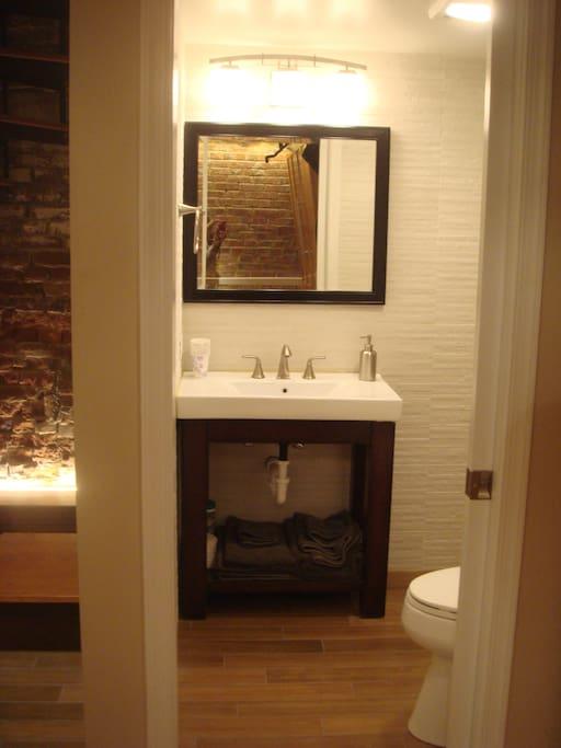 Private bathroom entrance.