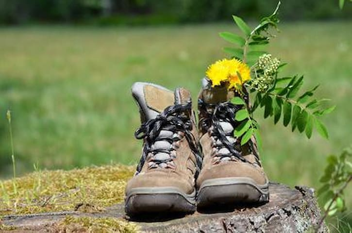 Do Not Forget Your Walking Boots
