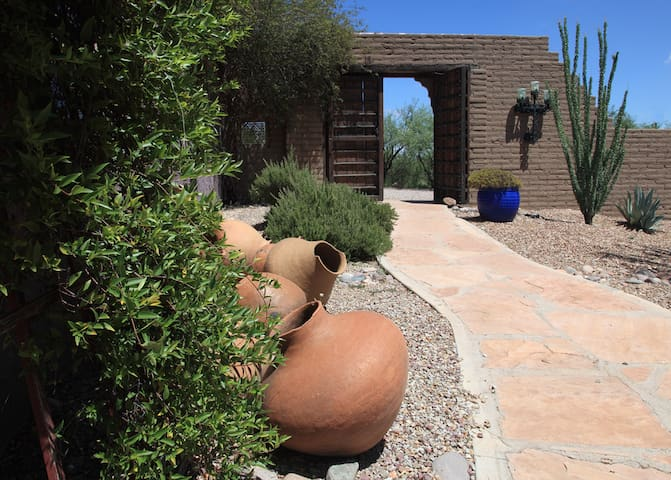 My Home in the High Desert - Tubac