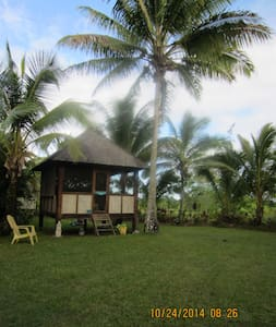 Cabin\ Bali Hut, tropical paradise
