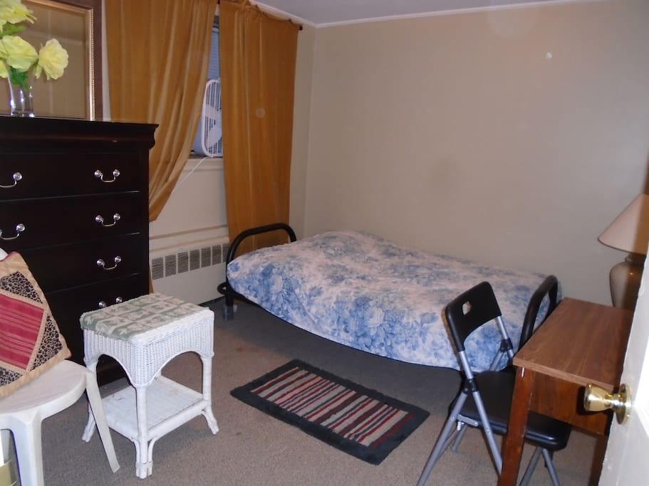 all beds are privet for individual persons this bed room has privet bath and has bed no. two in separate    room for a party of two
