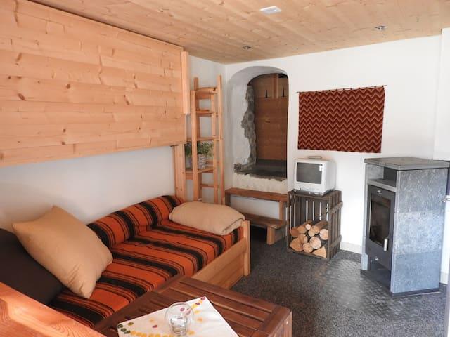 Charmant studio Val d'Anniviers, Valais - Ayer - Apartmen
