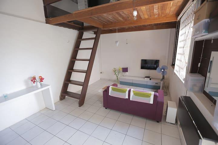Petite maison près du Marché - Cayenne - Leilighet