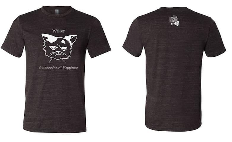 Ambassador of Happiness shirts, $18