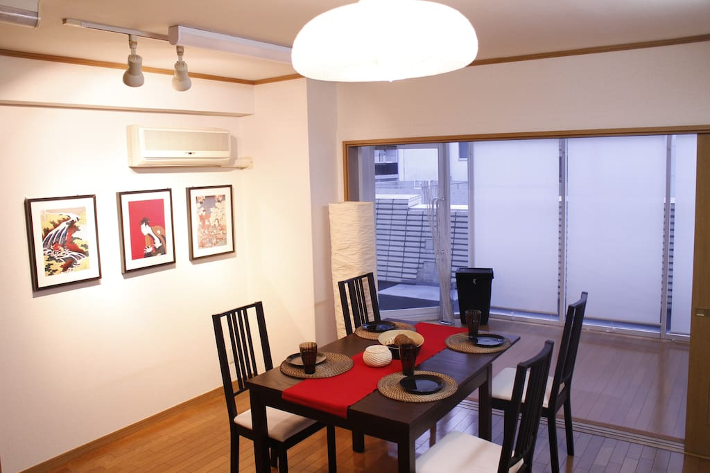 living room(free space for guest)