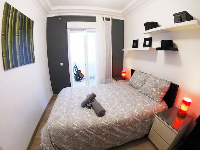COZY DOUBLE BED ROOM WITH TERRACE