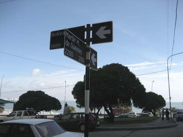 AMBIENTE FTE AL MAR. BOLIVAR E/ OLAVARRIA Y GUEMES - Mar del Plata - Flat