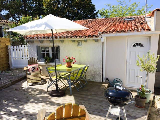 Maison GOELAND 4 pers 7min à pied des plages calme - La Tranche-sur-Mer - บ้าน