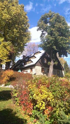 Przytulny pokój z widokiem na góry - Szklarska Poręba - Slaapzaal