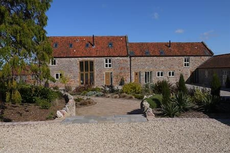 The Byre Family Cottage with on-site Spa - Dulcote - Talo
