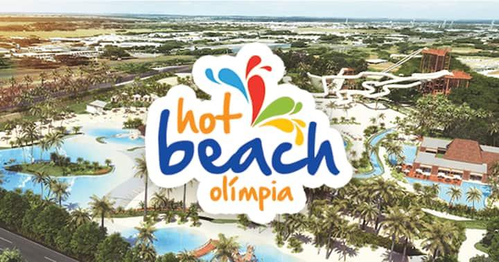 Hot Beach Suites Olimpia-Acesso Hot Beach CORTESIA