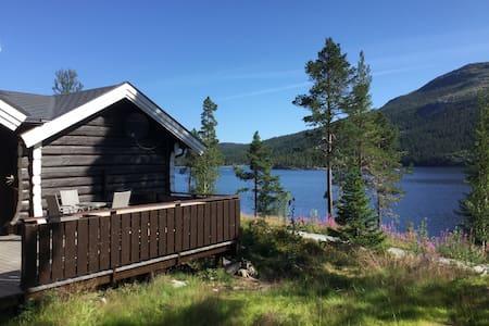 Hytte Tunhovdfjorden - perle i flotte omgivelser