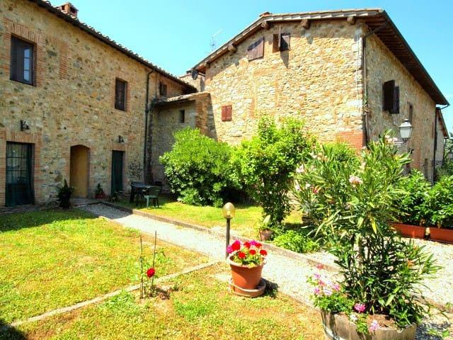 Bossi di Sopra Castello di Bossi - Castelnuovo Berardenga (Siena) - Wohnung