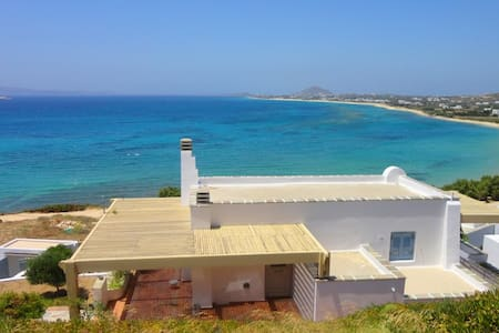 Villa Azure on the beach Naxos 6+1 Sleeps - Naxos - Villa
